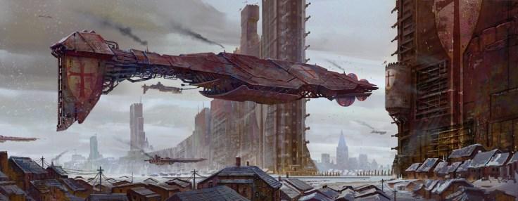 vaisseau levitation