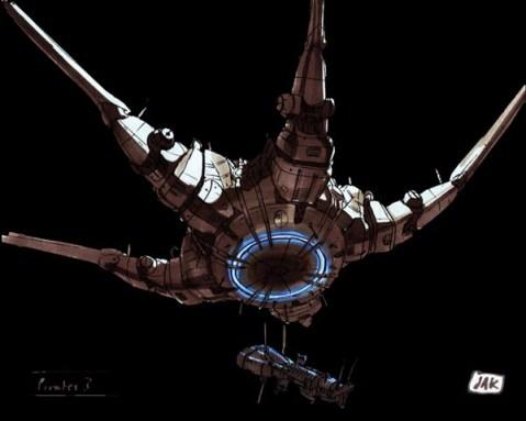 1-vaisseaux design concept dessin