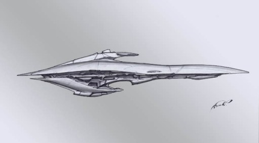 11-vaisseaux design concept dessin