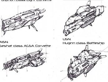 112-vaisseaux design concept dessin