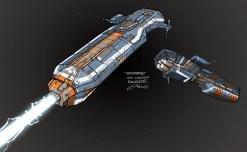 128-vaisseaux design concept dessin