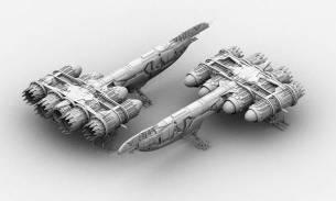 15-vaisseaux design concept dessin