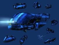 151-vaisseaux design concept dessin