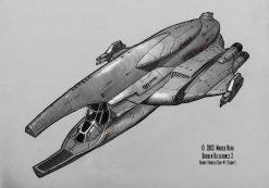 170-vaisseaux design concept dessin