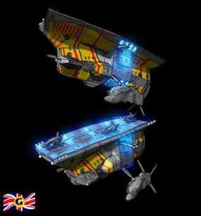 22-vaisseaux design concept dessin