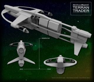 46-vaisseaux design concept dessin