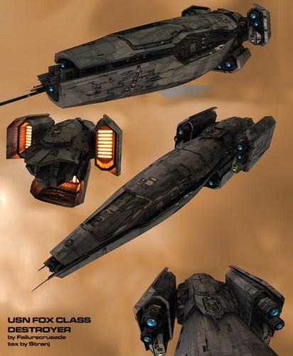 48-vaisseaux design concept dessin