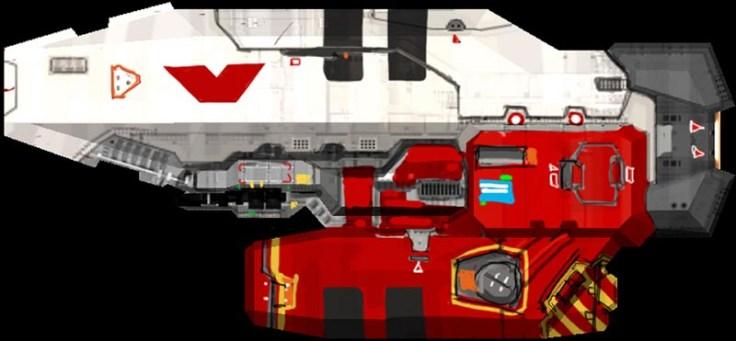 88-vaisseaux design concept dessin