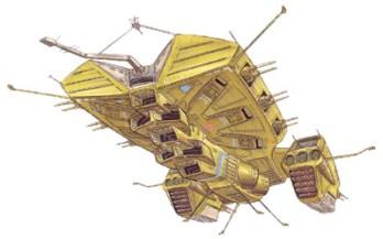 91-vaisseaux design concept dessin