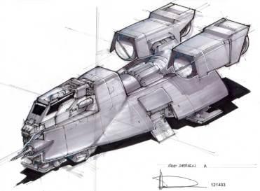 98-vaisseaux design concept dessin