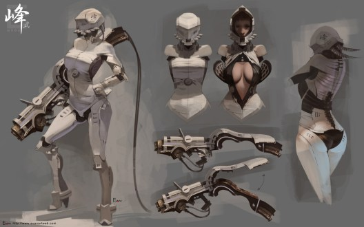 concept art soldier girl