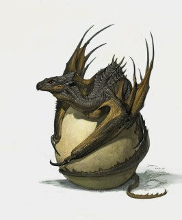 dragon oeuf
