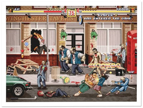 shaun of the dead et streets of rage