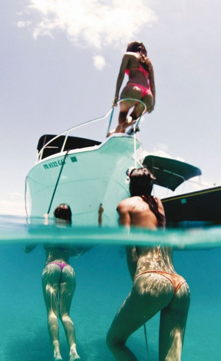 baigneuses photo mi eau