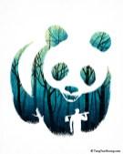 wwf panda dessin