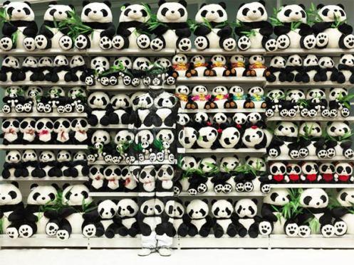 Liu-Bolin-camouflage panda