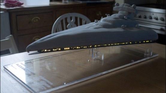 Gâteau Star Destroyer - Star Wars