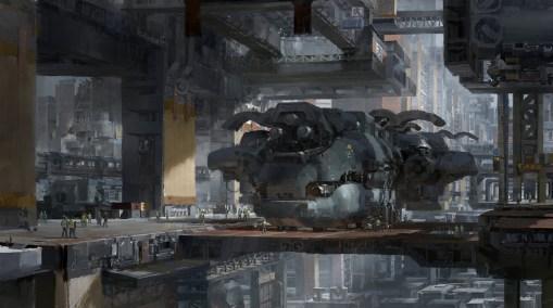 docking bay futur dessin