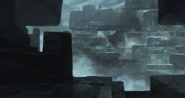 paysage block dessin