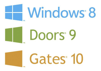 windows 8 doors 9 gates 10