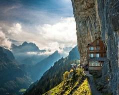 Aescher Hotel en suisse