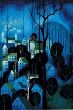 Eyvind Earle midnight-blue-1983