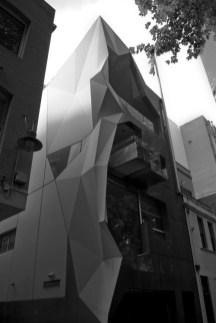 immeuble design futuriste