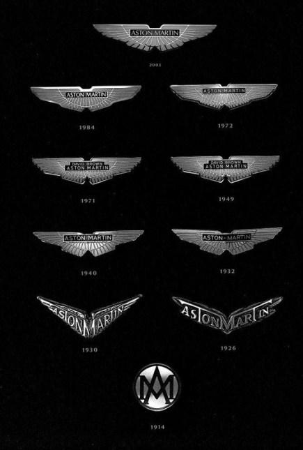 logos aston martin