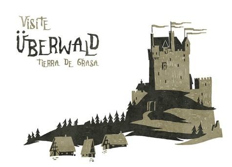 chateau dessin uberwald