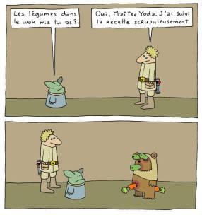humour tar wars dessin