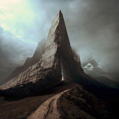 montage photo montagne