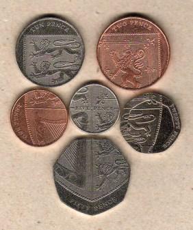 pieces pence blason