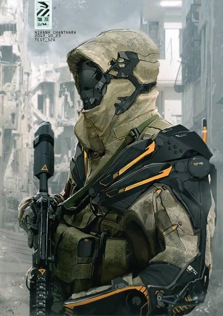 duster soldat futuriste
