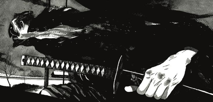 samurai dessin
