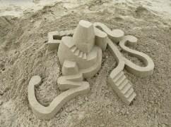 lowpoly sandcastle chateaux de sables 2