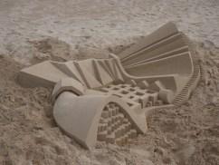lowpoly sandcastle chateaux de sables 5