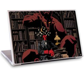 sticker hellboy macbook