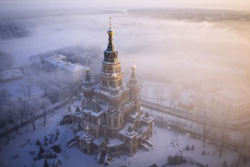 chateau neige russie