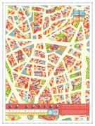 ville dessin la latina stylise