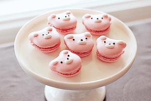 macarons cochons