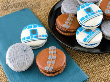 macarons star wars