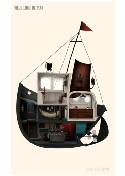 bateau 3d concept jose sabatini
