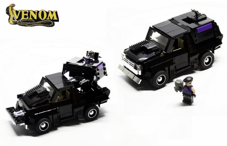 M.A.S.K Venom Jackhammer