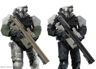 soldat robot concept dessin