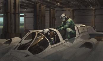 entering_pilots_dessin vaisseau