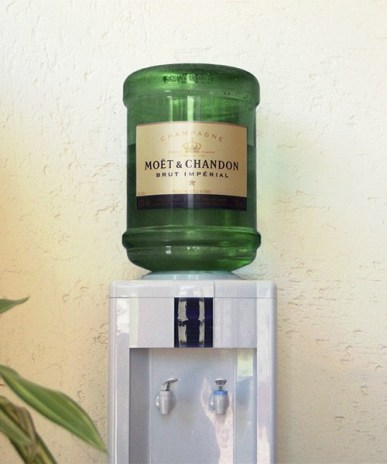 moet chandon campagne distributeur