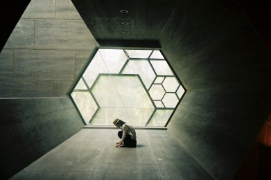 tangchan hexagone architecture