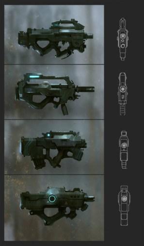 arme dessin design