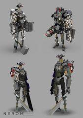neron par dimitri neron - robots design