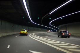 tunnel voitures